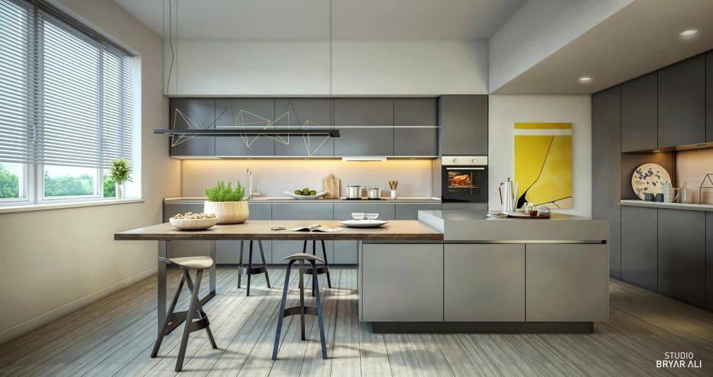 St. John's kitchen cabinets
